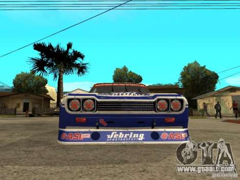Ford Capri RS Cosworth 1974 for GTA San Andreas right view