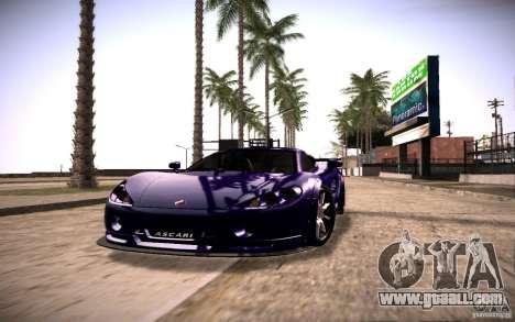 SA Illusion-S V1.0 SAMP Edition for GTA San Andreas second screenshot