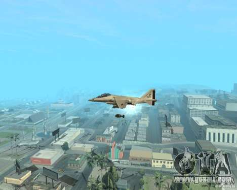 Cluster Bomber for GTA San Andreas