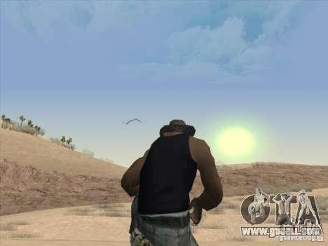 Beautiful clouds and more for GTA San Andreas third screenshot