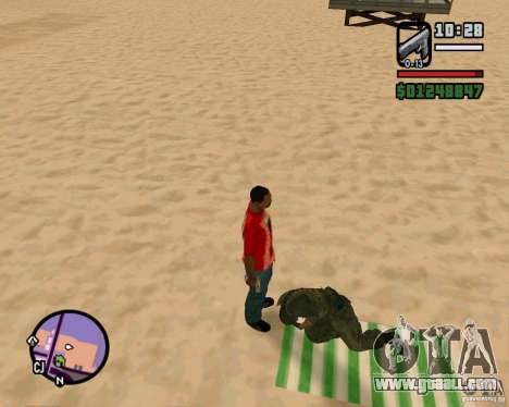 Action of COD Modern Warfare 2 for GTA San Andreas third screenshot