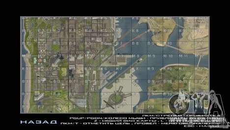 Map Mod v1.2 for GTA San Andreas second screenshot
