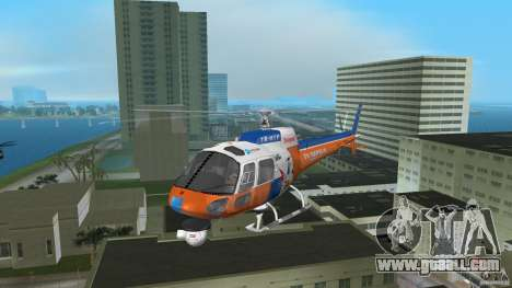 Eurocopter As-350 TV Neptun for GTA Vice City