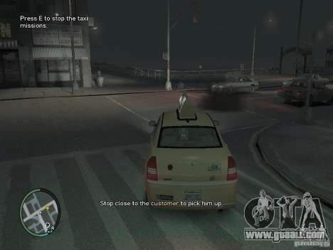 The Mission of taxi driver for GTA 4 for GTA 4 third screenshot