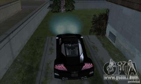 Xenon Lights (Xenon Headlights) for GTA San Andreas fifth screenshot