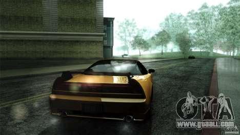 Honda NSX-R 2005 for GTA San Andreas back view