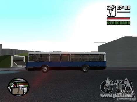 Ikarus 415.02 for GTA San Andreas back view