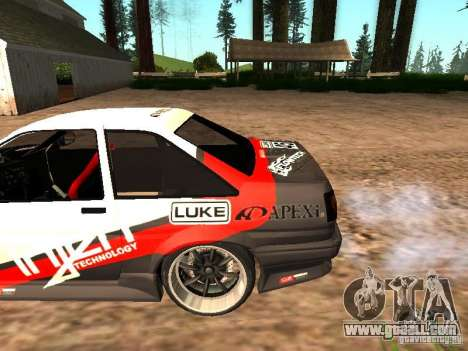 Toyota AE86 Coupe for GTA San Andreas side view