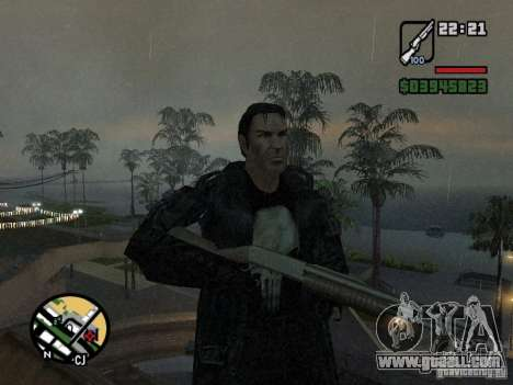 The Punisher for GTA San Andreas