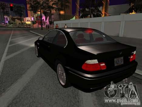 BMW M3 GT-R Stock for GTA San Andreas side view