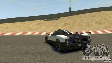Pagani Zonda Cinque 2009 for GTA 4 back left view