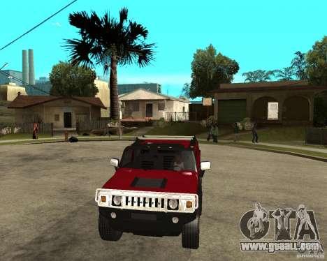 AMG H2 HUMMER SUT for GTA San Andreas