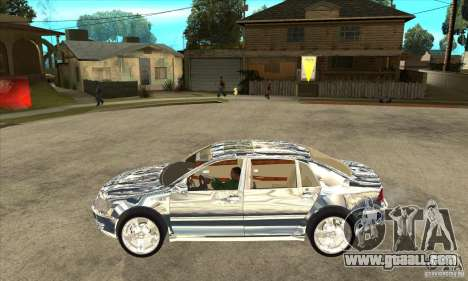 Volkswagen Phaeton chrome plated for GTA San Andreas left view