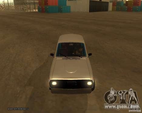 Gaz Volga 2410 Drift Edition for GTA San Andreas upper view