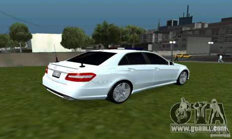Mercedes-Benz E63 DPS for GTA San Andreas right view