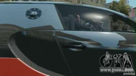 Bugatti Veyron 16.4 Super Sport for GTA 4 back left view