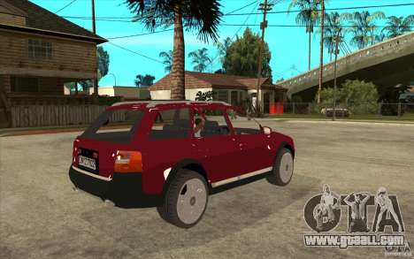 Audi Allroad Quattro v1.1 for GTA San Andreas