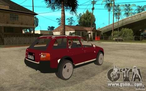 Audi Allroad Quattro v1.1 for GTA San Andreas right view