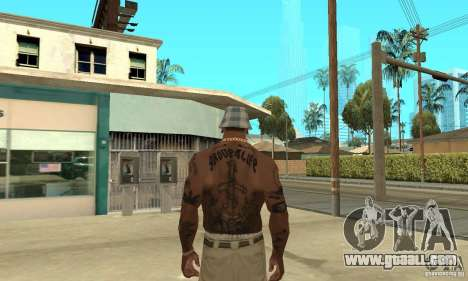 Tattoo mod for GTA San Andreas forth screenshot