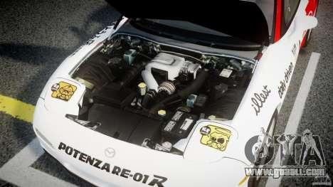 Mazda RX-7 1997 v1.0 [EPM] for GTA 4 upper view