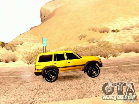 Toyota Land Cruiser 80 Off Road Rims for GTA San Andreas left view