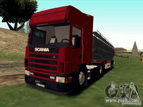 Scania 114L for GTA San Andreas left view