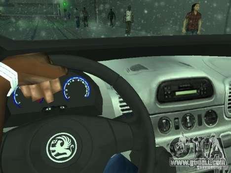 Vauxhall Vivaro v0.1 for GTA San Andreas upper view