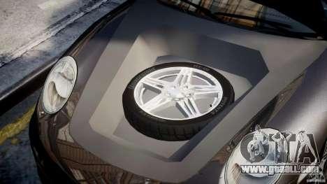 Porsche 911 Turbo for GTA 4 back view