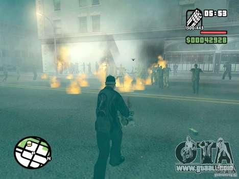 Zombie Alarm for GTA San Andreas