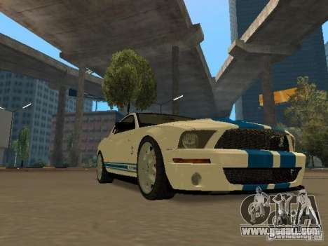 Ford Mustang GT for GTA San Andreas right view