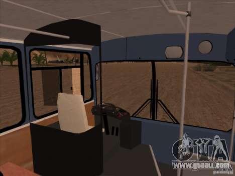 MAN SL200 Exclusive v.1.00 for GTA San Andreas interior