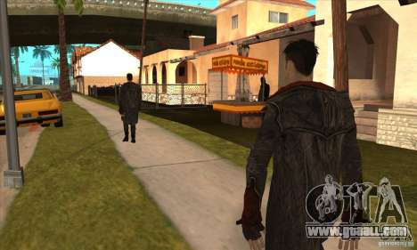 Dante from Devil May Cry for GTA San Andreas forth screenshot