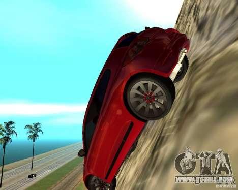 VW Scirocco III Custom Edition for GTA San Andreas back view