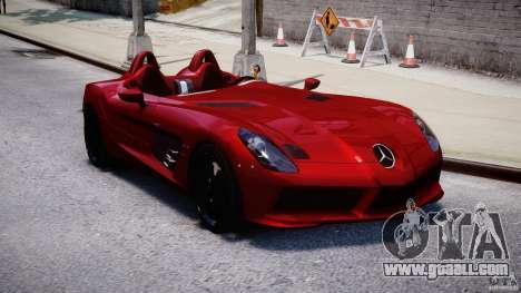 Mercedes-Benz SLR McLaren Stirling Moss [EPM] for GTA 4 back view