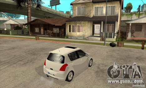 Suzuki Swift 4x4 CebeL Modifiye for GTA San Andreas right view