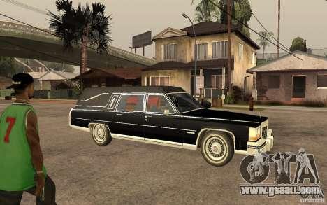 Cadillac Fleetwood Hearse 1985 for GTA San Andreas