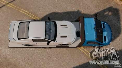 Mercedes-Benz Sprinter 3500 Car Transporter for GTA 4 right view