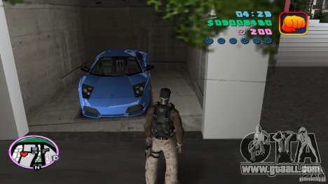 50 Cent Player for GTA Vice City second screenshot