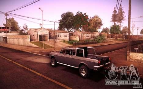 GAZ 2402 4 x 4 PickUp for GTA San Andreas right view