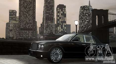 Bentley Arnage T v 2.0 for GTA 4 left view