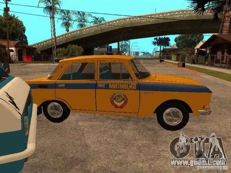 AZLK 2140 Militia early version for GTA San Andreas right view