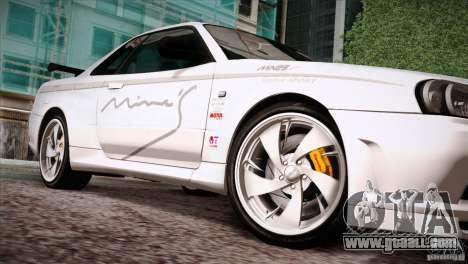 FM3 Wheels Pack for GTA San Andreas seventh screenshot