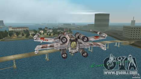 X-Wing Skimmer for GTA Vice City back view