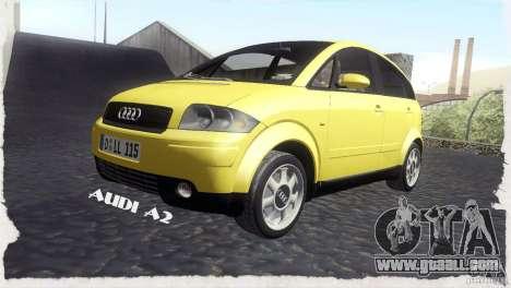 Audi A2 for GTA San Andreas