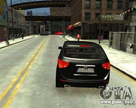 Hyundai IX55 for GTA 4 left view
