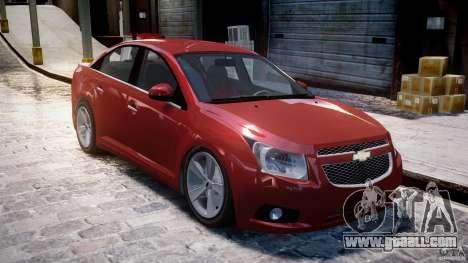 Chevrolet Cruze for GTA 4 left view
