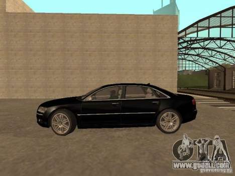 Audi A8 W12 S-Line for GTA San Andreas
