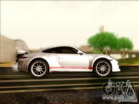 Porsche 911 Carrera S (991) Snowflake 2.0 for GTA San Andreas back view