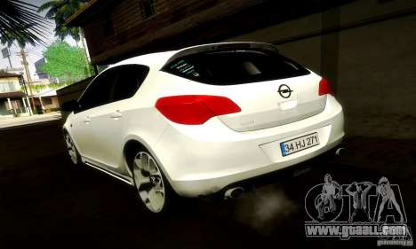 Opel Astra Senner for GTA San Andreas right view
