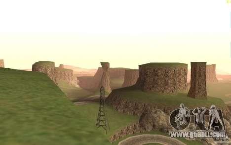 New desert for GTA San Andreas third screenshot
